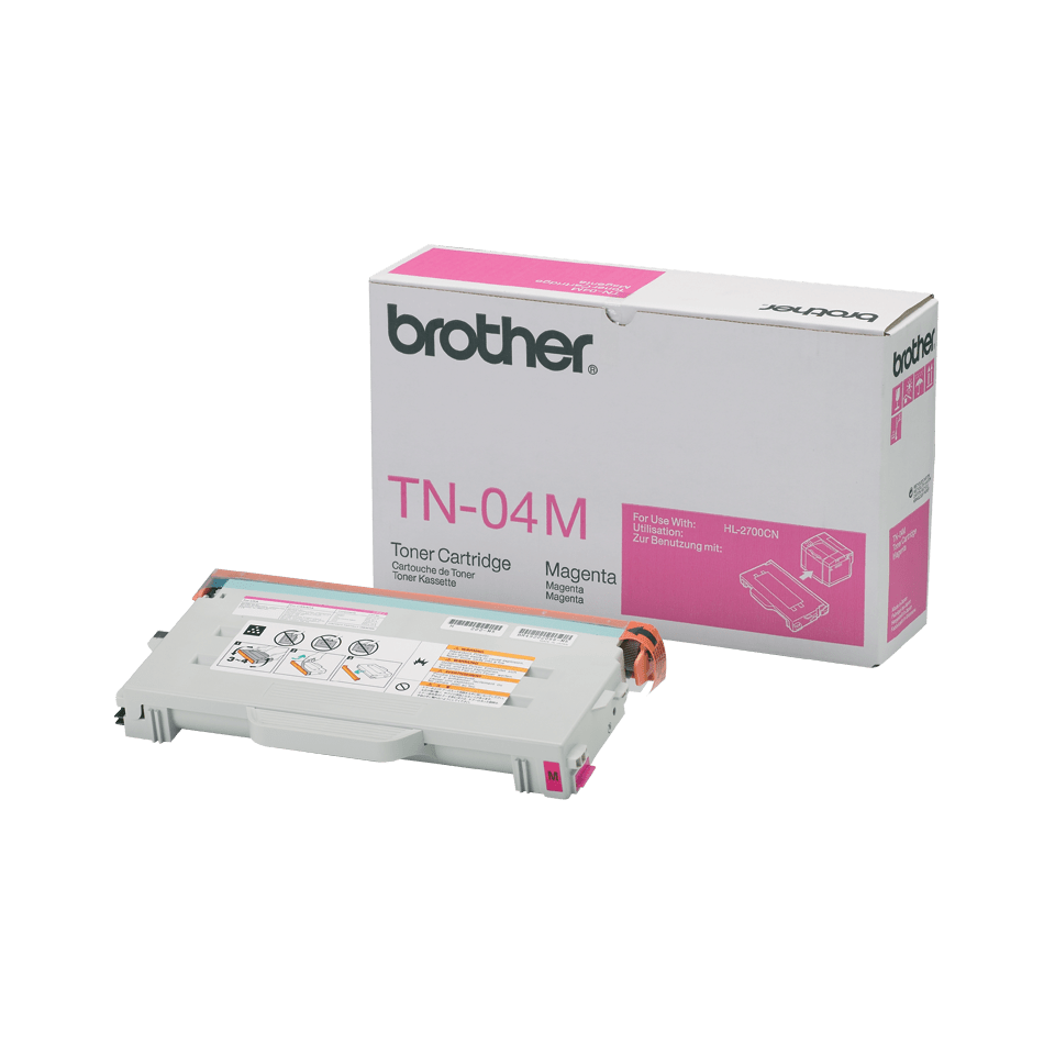 TN-04M toner magenta d'origine Brother à rendement standard