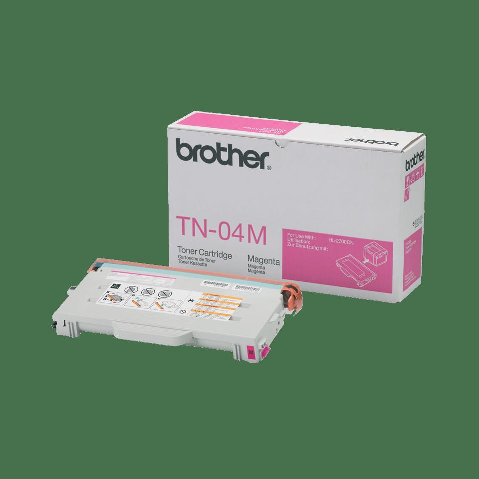 Brother TN04M toner magenta - rendement standard