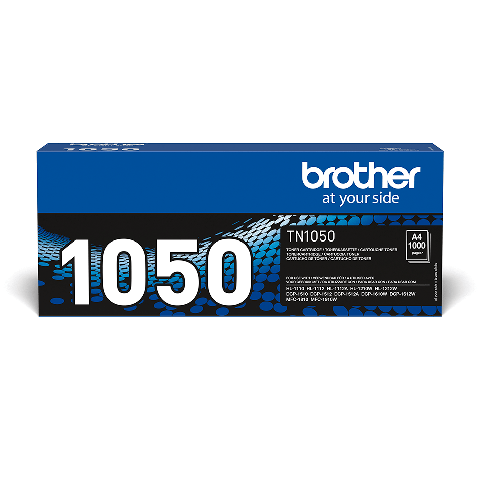 TN-1050 originele zwarte Brother toner