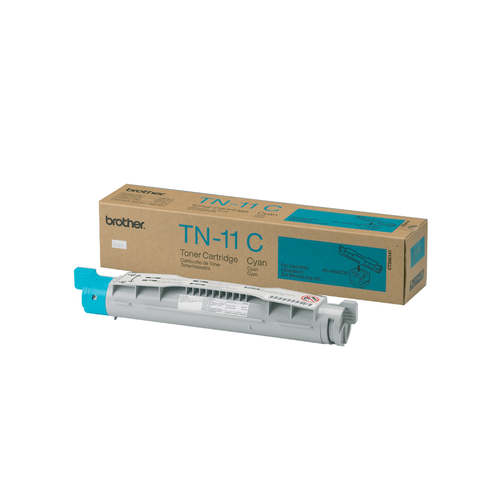 TN-11C toner cyan d'origine Brother à rendement standard