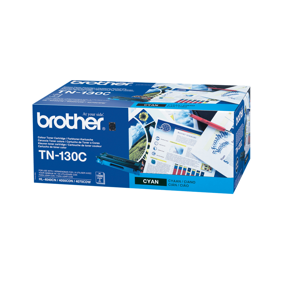 Brother TN130C toner cyan - rendement standard 2