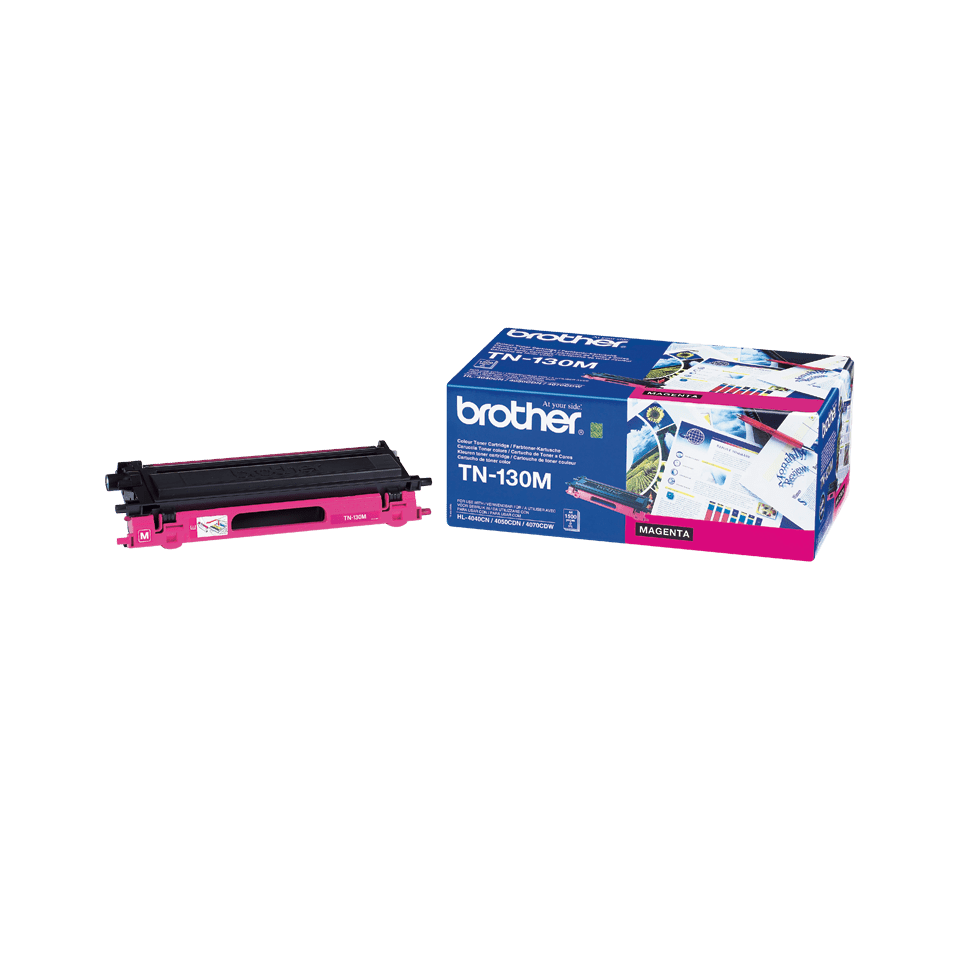 TN-130M toner magenta d'origine Brother à rendement standard