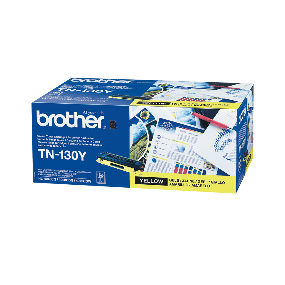 Brother TN130Y toner geel - standaard rendement 2