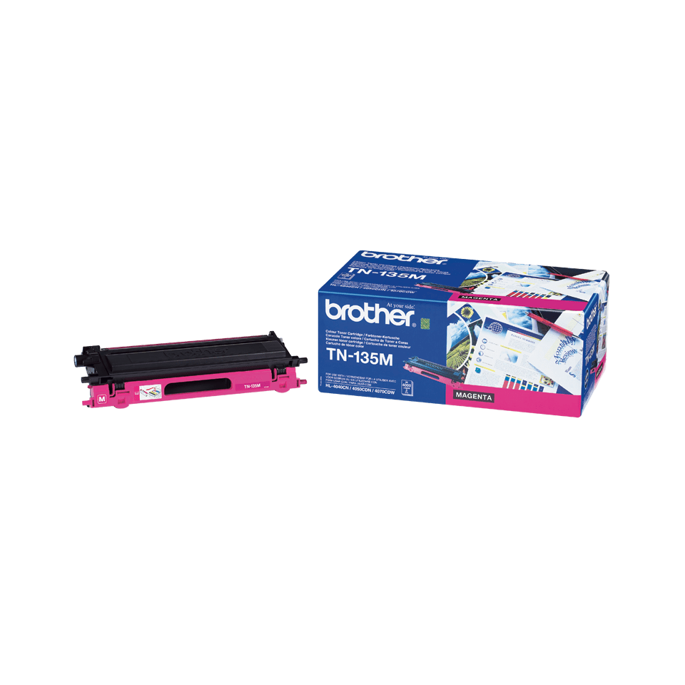 TN-135M originele magenta Brother toner met hoog rendement 0