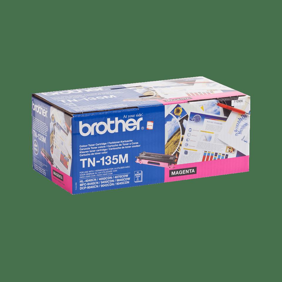 Brother TN135M toner magenta - haut rendement