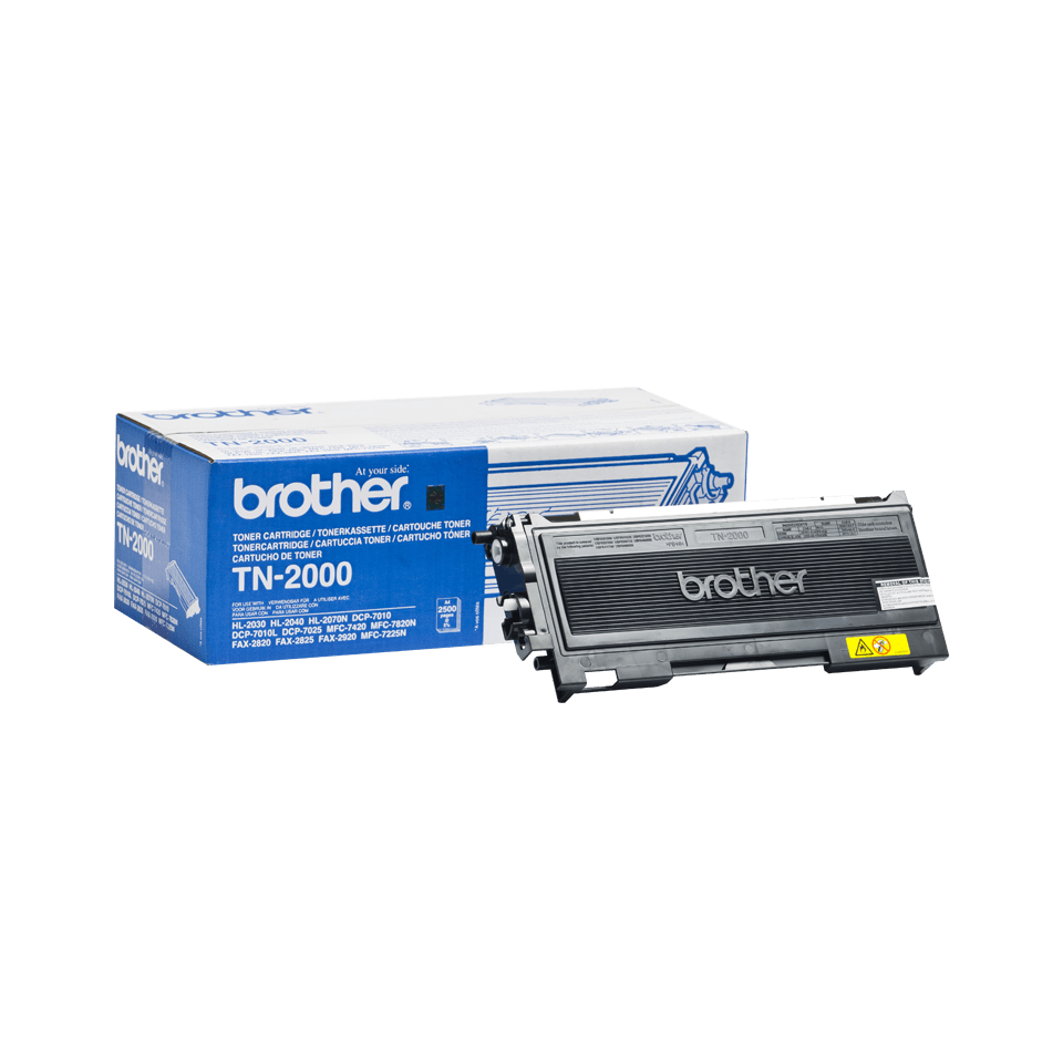 TN-2000 toner noir d'origine Brother