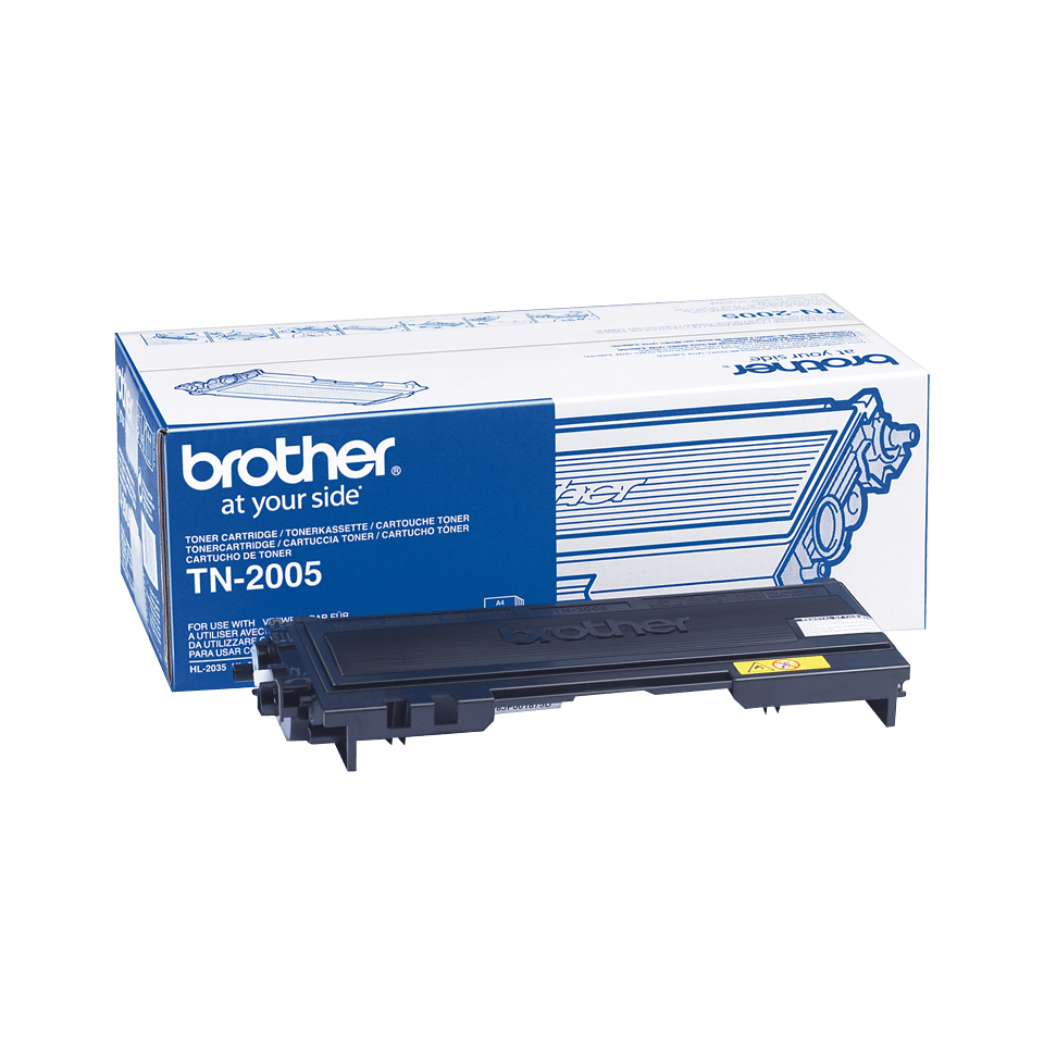 TN-2005 toner noir d'origine Brother 0