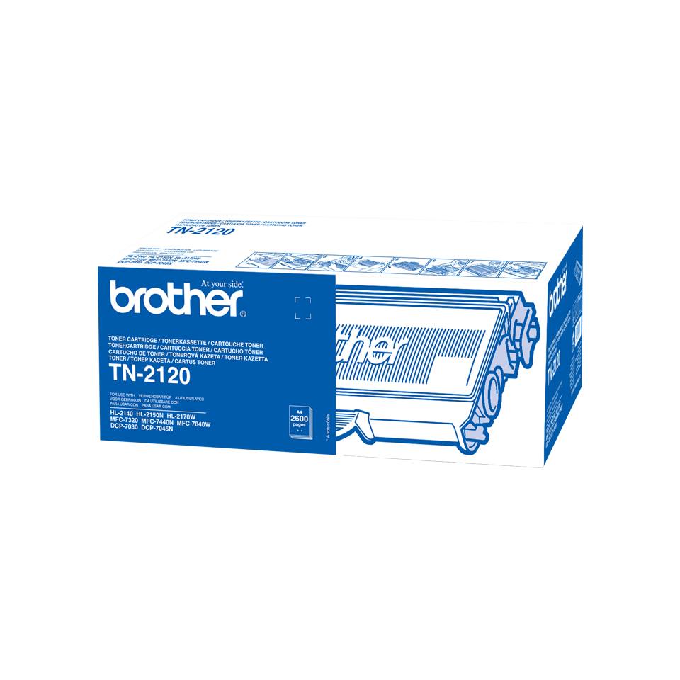 Brother TN2120 toner zwart - hoog rendement 2