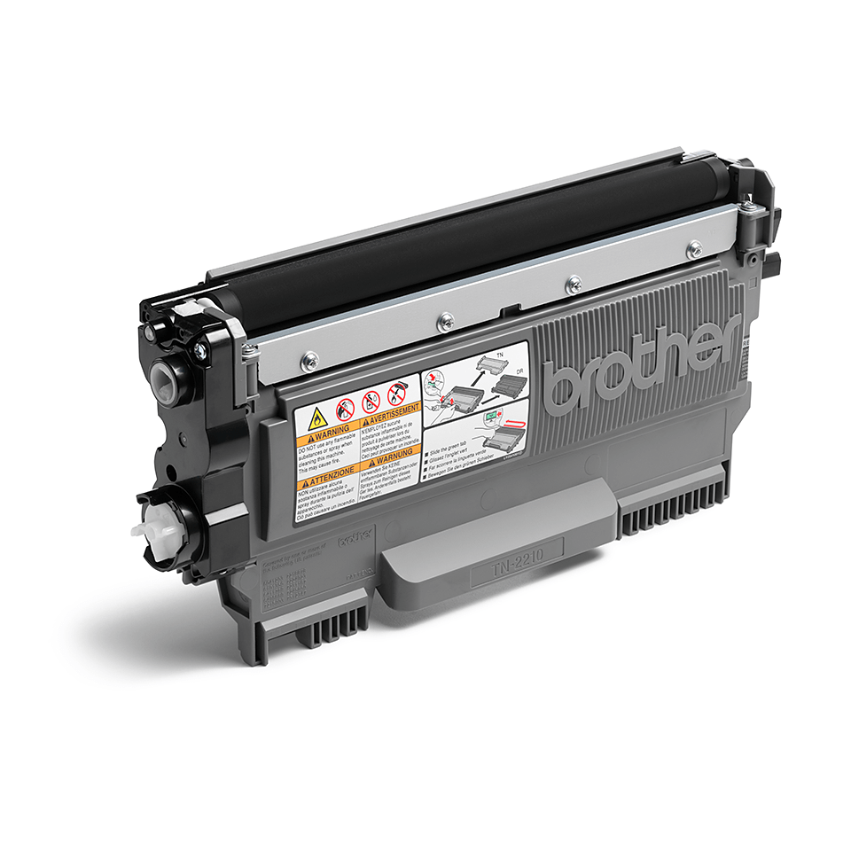 Brother TN2210 toner zwart - standaard rendement 2