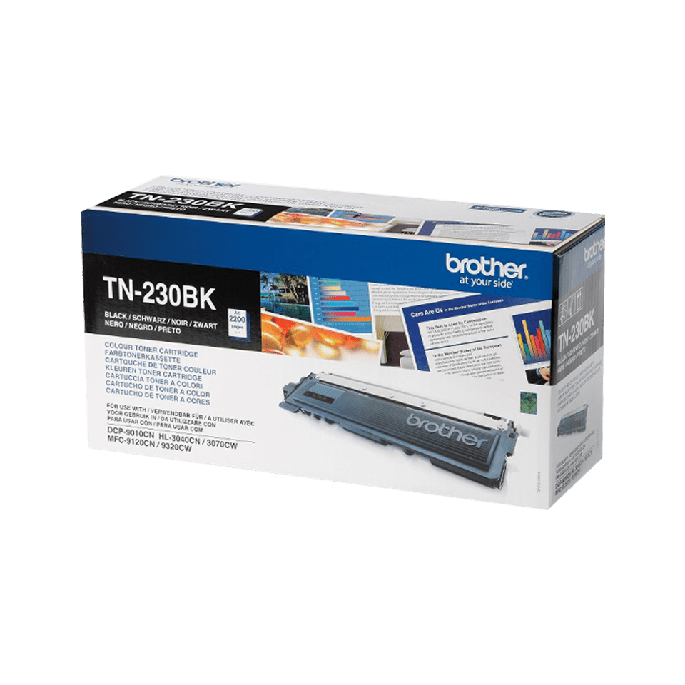 Brother TN230BK toner noir - rendement standard 2