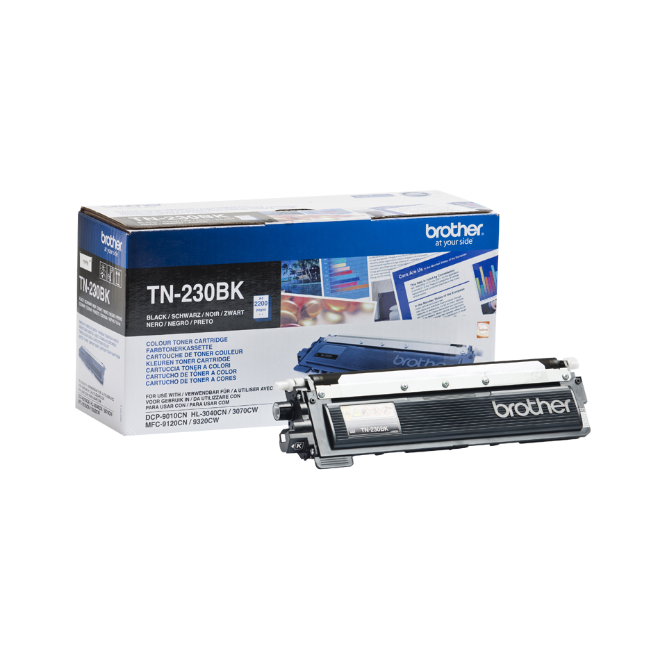 Brother TN230BK toner noir - rendement standard