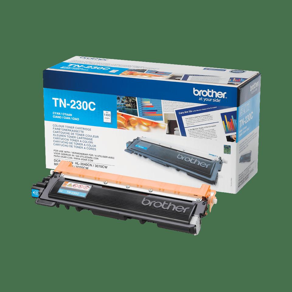 Brother TN230C toner cyaan - standaard rendement