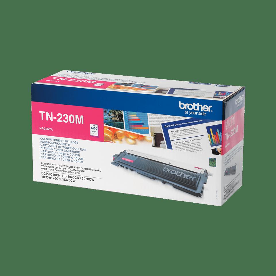 TN-230M toner magenta d'origine Brother à rendement standard