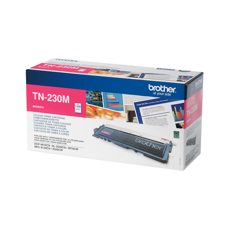 Brother TN230M toner magenta - rendement standard 2