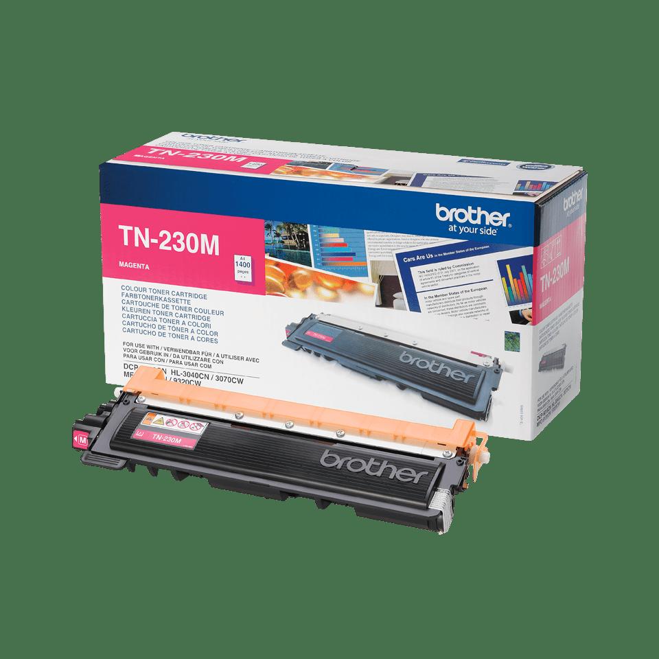 TN-230M originele magenta Brother toner met standaard rendement 2