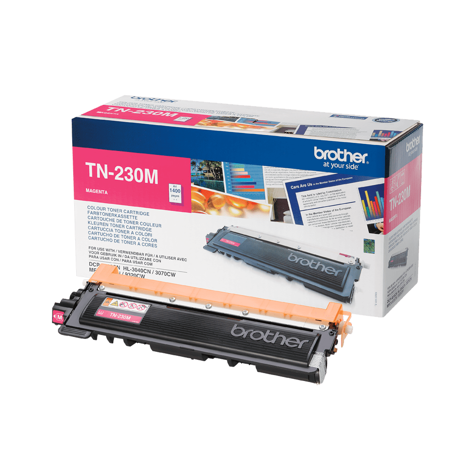 Brother TN230M toner magenta - rendement standard