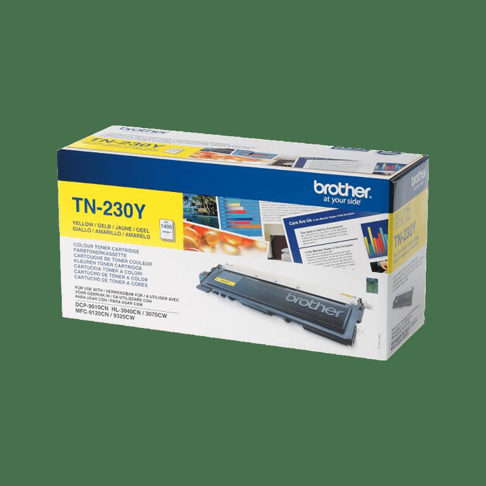 TN-230Y originele gele Brother toner met standaard rendement