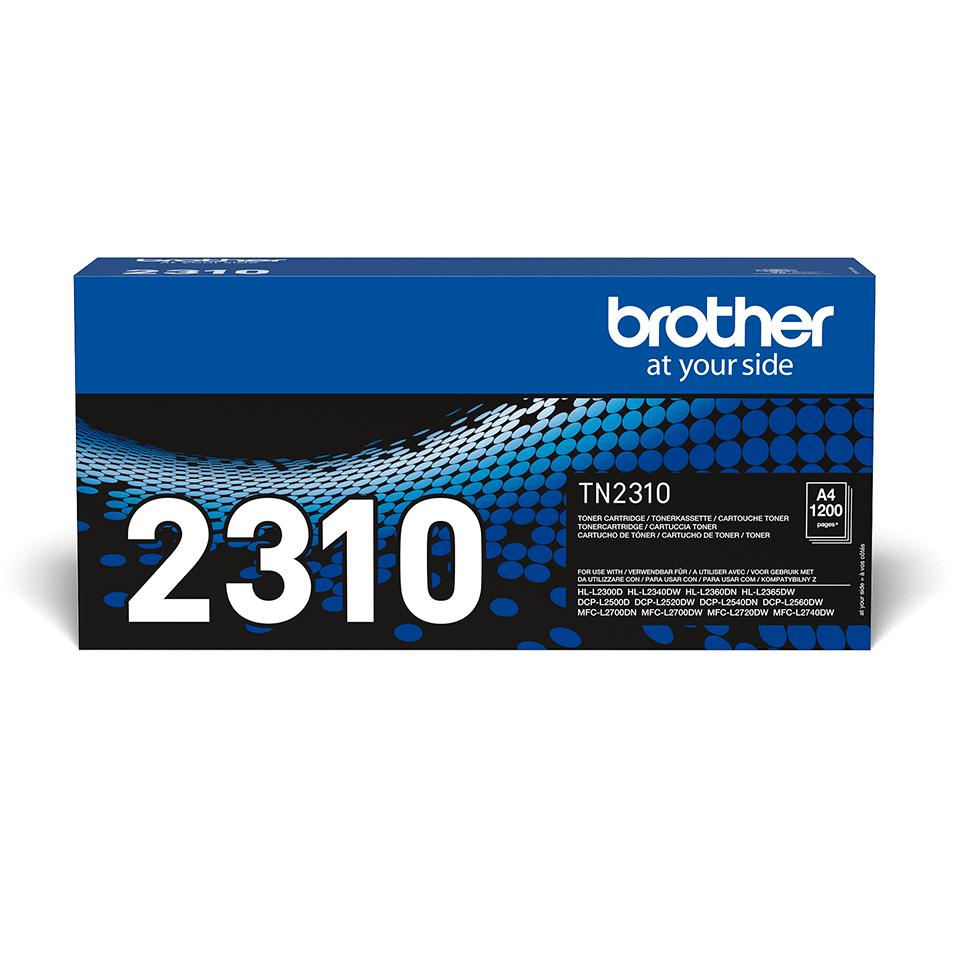 TN-2310 originele zwarte Brother toner met standaard rendement