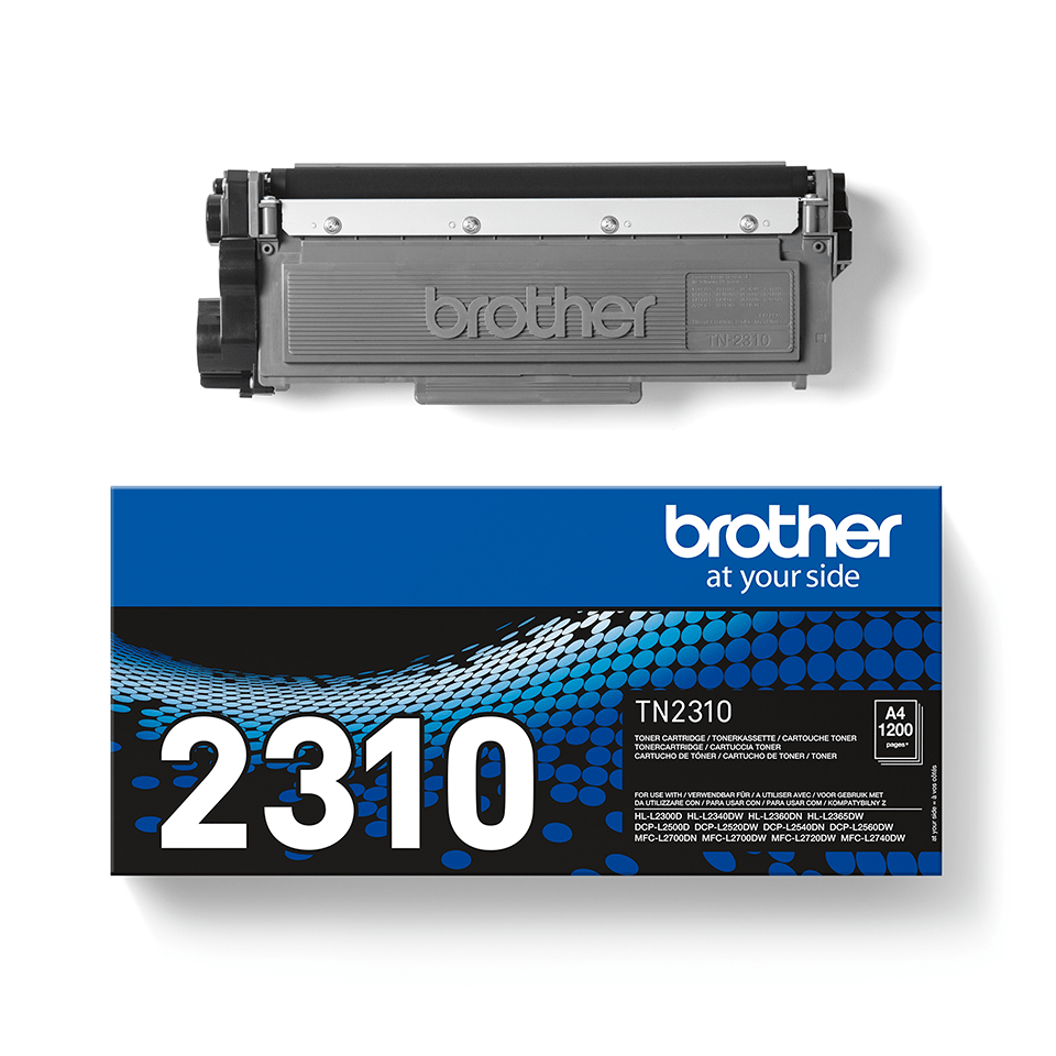 TN-2310 toner noir d'origine Brother à rendement standard 3