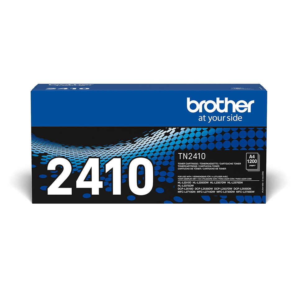 TN-2410 toner noir d'origine Brother à rendement standard