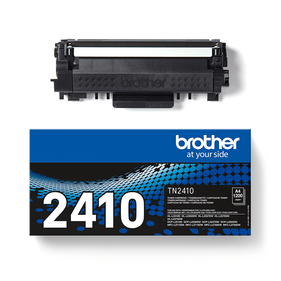 TN-2410 toner noir d'origine Brother à rendement standard 2