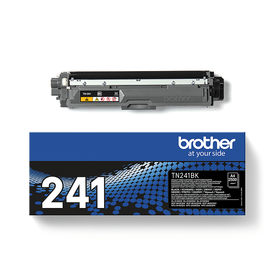 TN-241BK toner noir d'origine Brother à rendement standard 2
