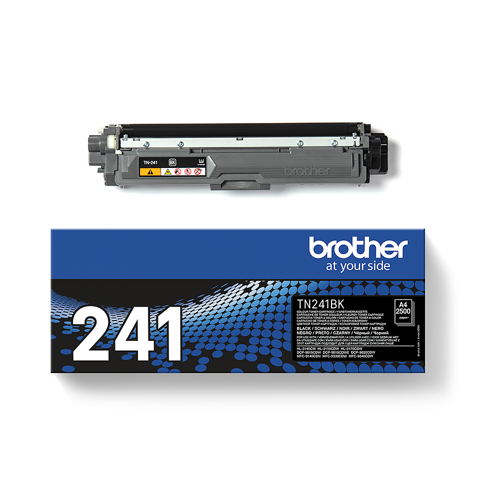 TN-241BK toner noir d'origine Brother à rendement standard