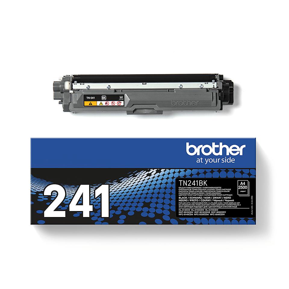 TN-241BK toner noir d'origine Brother à rendement standard 1