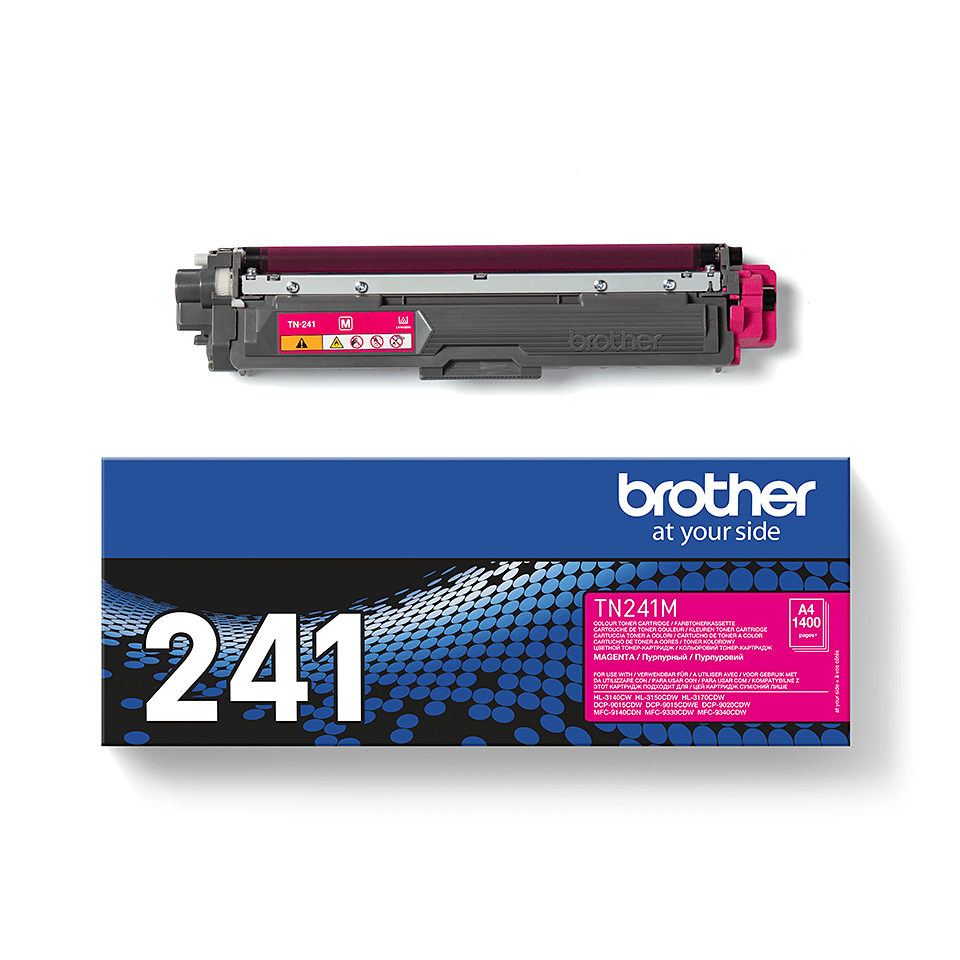 Brother TN241M toner magenta - rendement standard 3