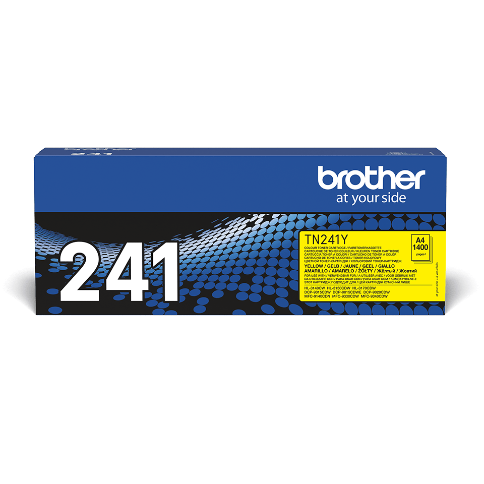 Brother TN241Y toner jaune - rendement standard