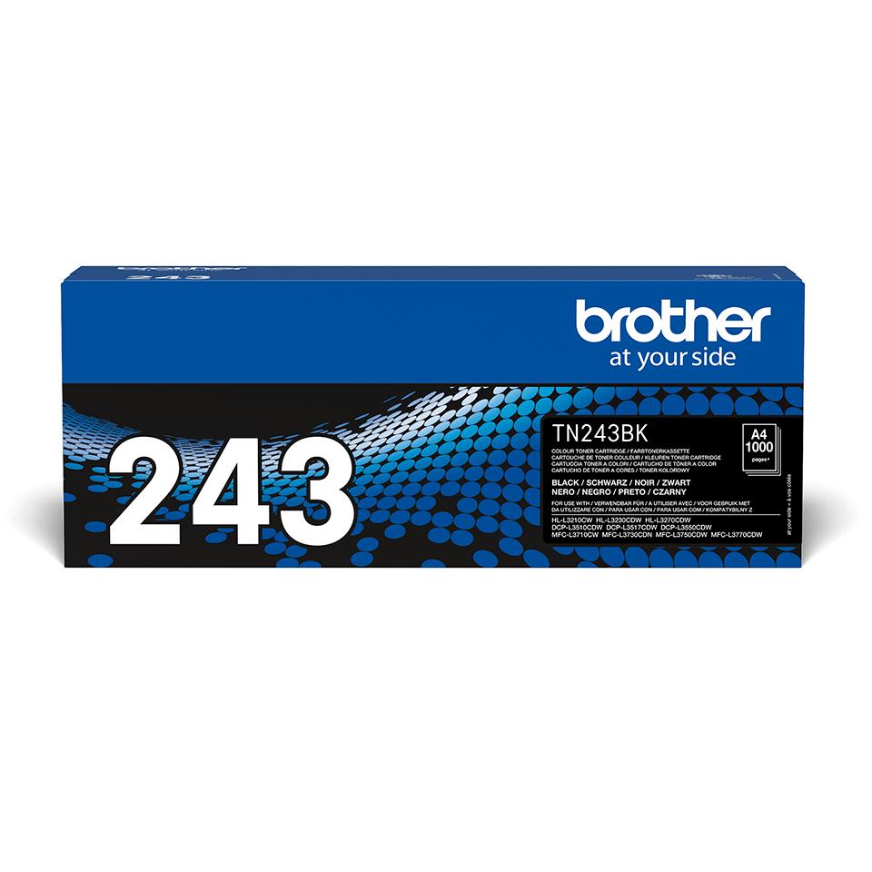 TN243BK originele zwarte Brother toner met standaard rendement