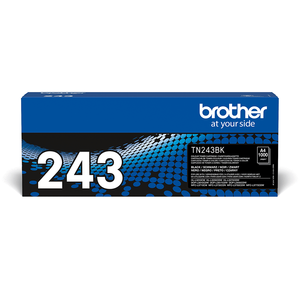 Brother TN243BK toner noir - rendement standard