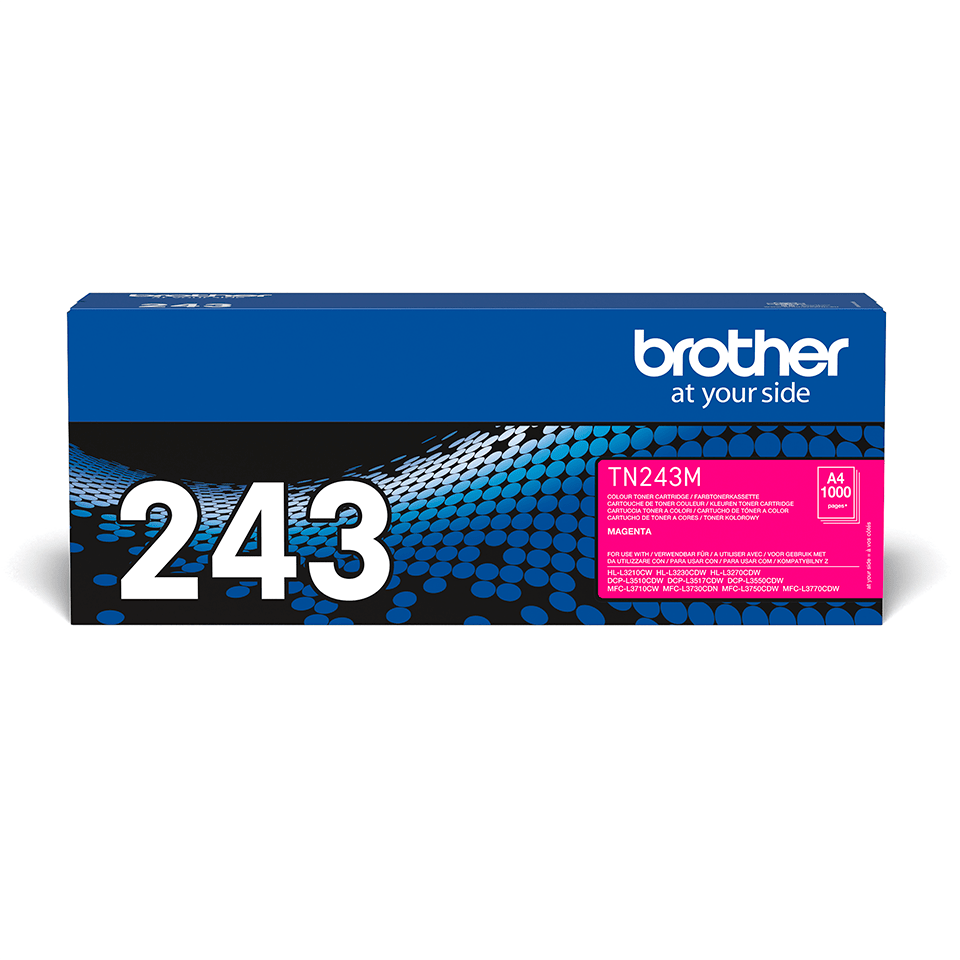 TN243M toner magenta d'origine Brother à rendement standard 2
