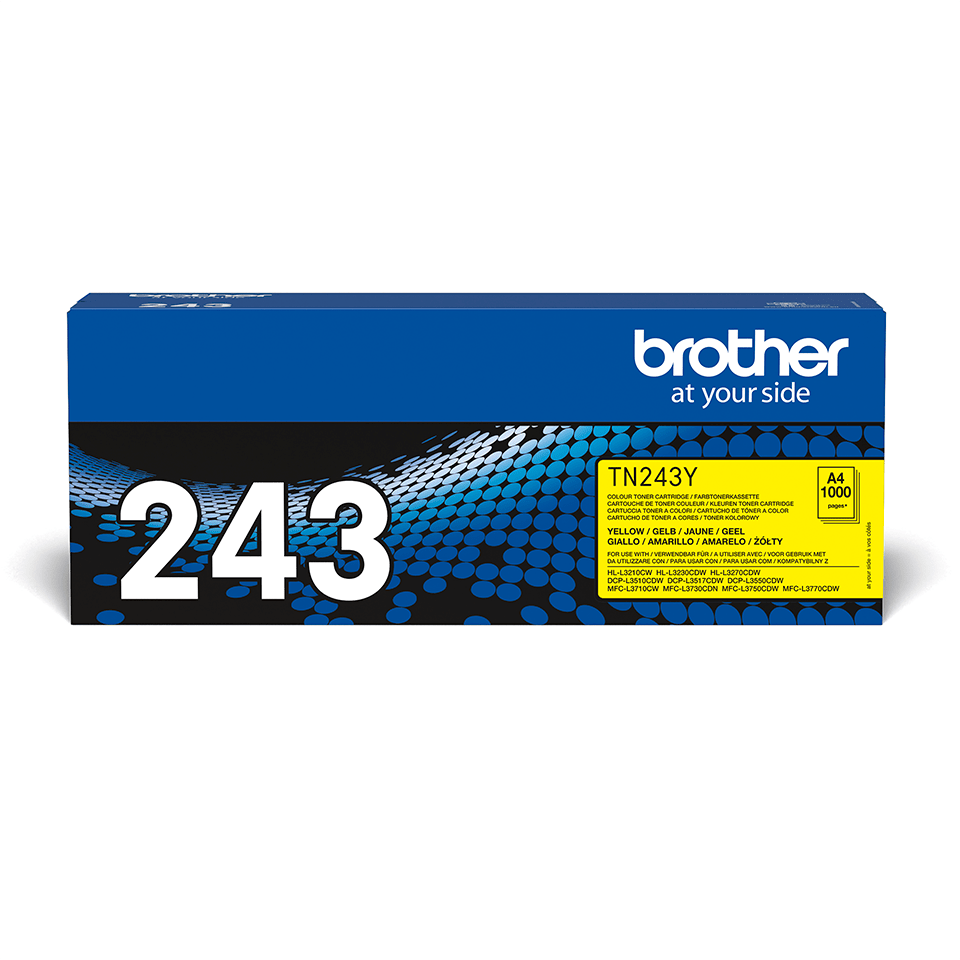 Brother TN247Y toner geel - hoog rendement