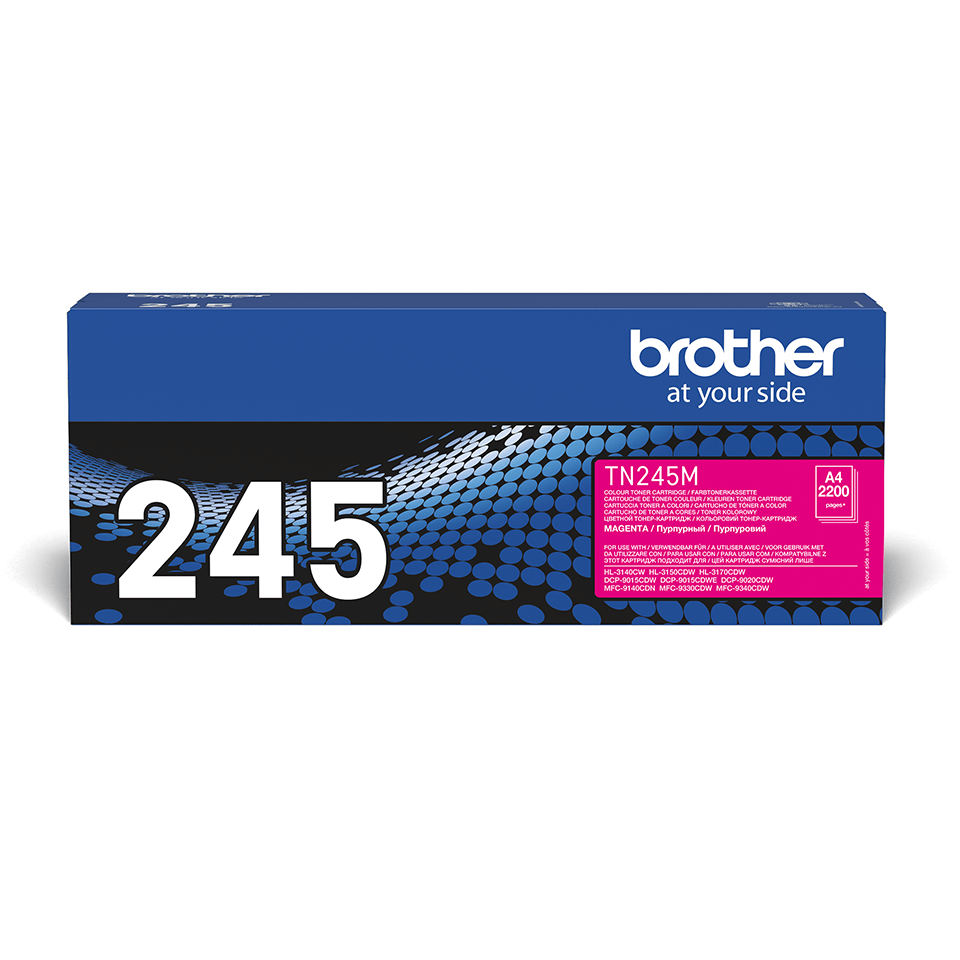 TN-245M originele magenta Brother toner met hoog rendement