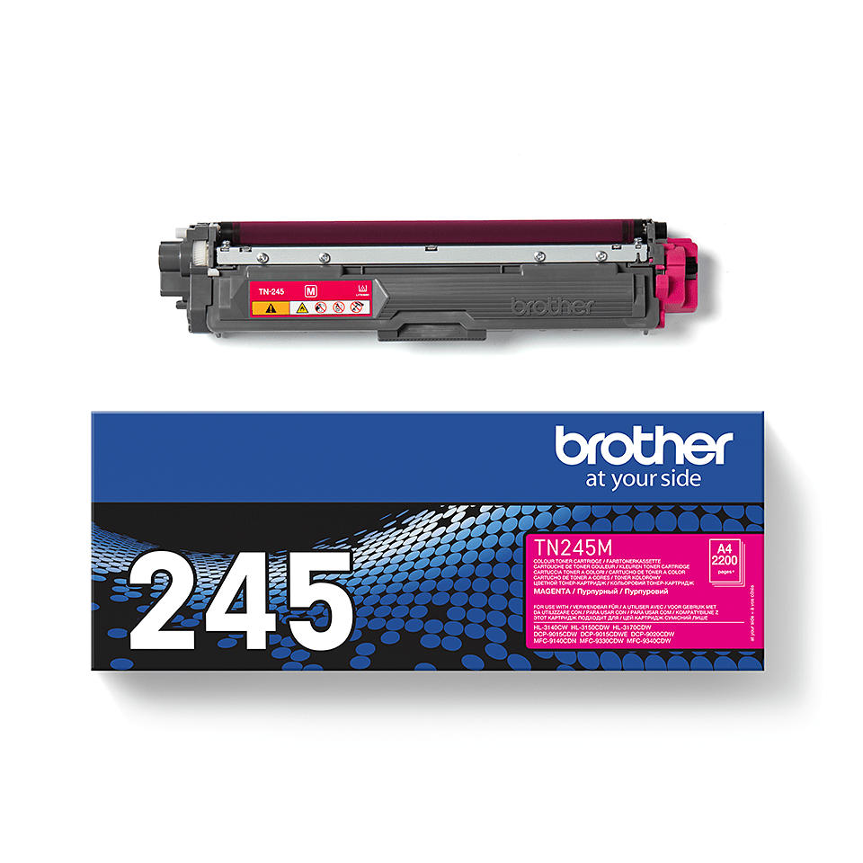 TN-245M originele magenta Brother toner met hoog rendement 2