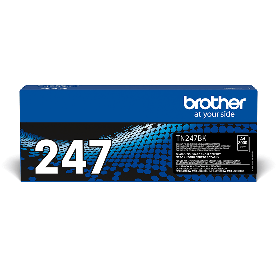 TN247BK toner noir d'origine Brother à haut rendement 2