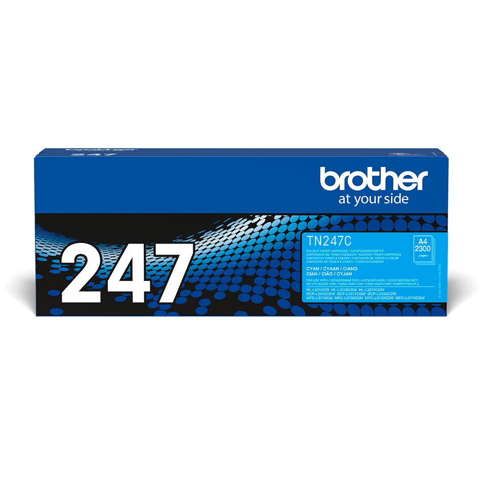 Brother TN247C toner cyaan - hoog rendement