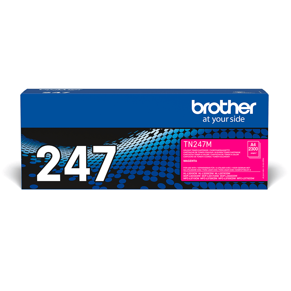 TN247M toner magenta d'origine Brother à haut rendement 2