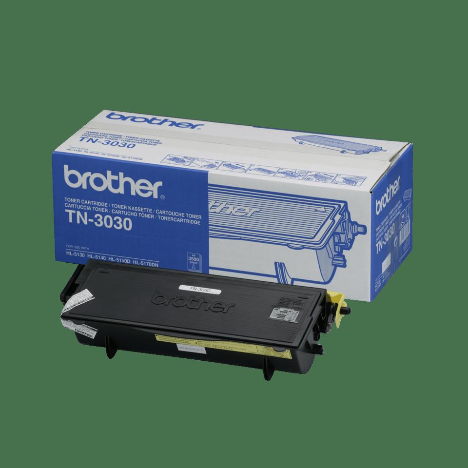 TN-3030 toner noir d'origine Brother à rendement standard