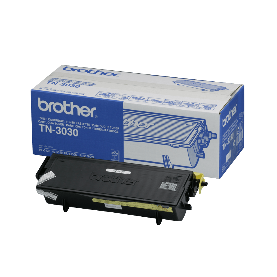 TN-3030 toner noir d'origine Brother à rendement standard