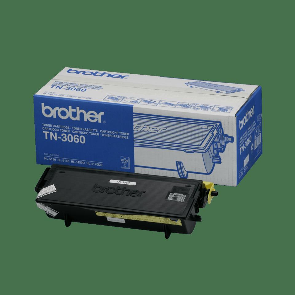 TN-3060 originele zwarte Brother toner met hoog rendement