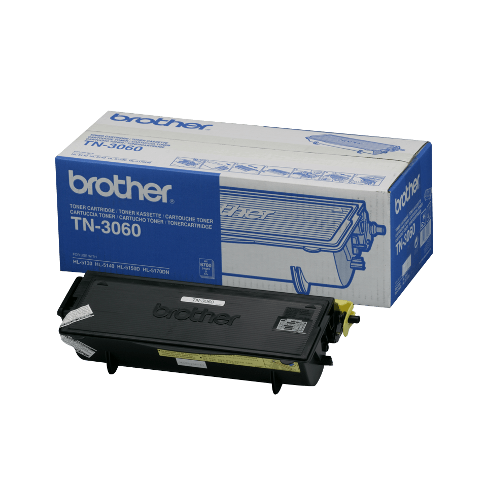 TN-3060 toner noir d'origine Brother à haut rendement
