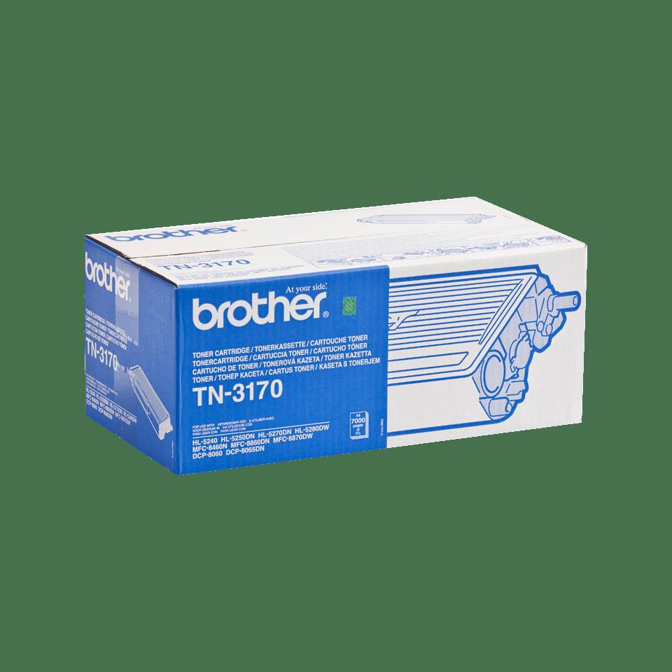 TN-3170 originele zwarte Brother toner met hoog rendement 1