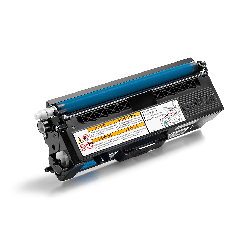 Brother TN320C toner cyan - rendement standard 2