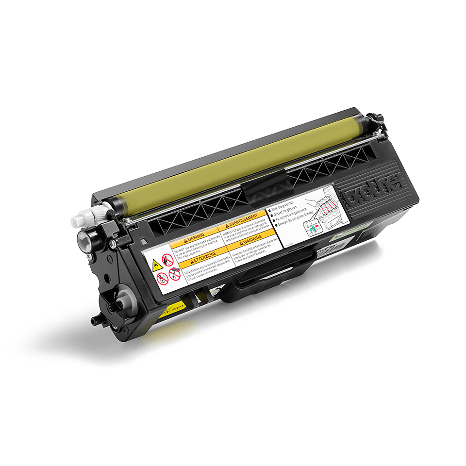 TN-320Y toner jaune d'origine Brother à rendement standard 0