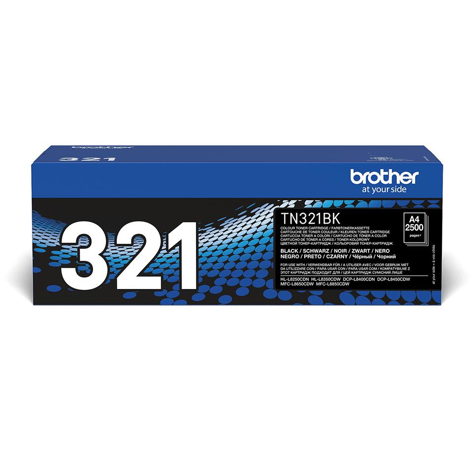 Brother TN321BK toner zwart - standaard rendement 2
