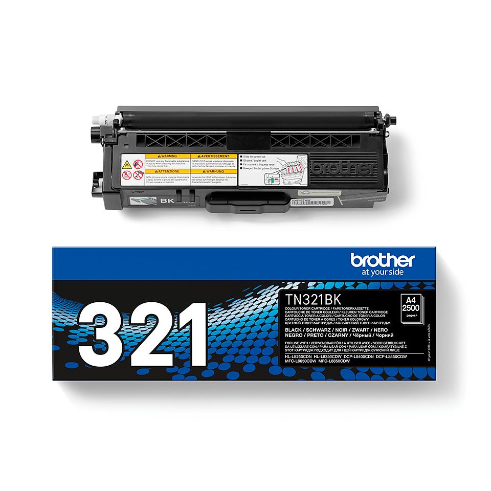 Brother TN321BK toner noir - rendement standard