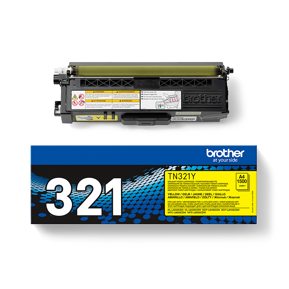 Brother TN321Y toner jaune - rendement standard