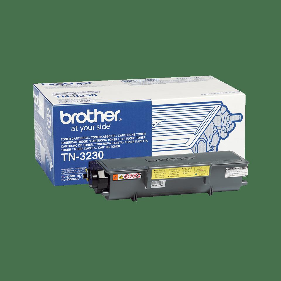 TN-3230 originele zwarte Brother toner met standaard rendement